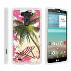 For LG G Vista / LG Optimus G Pro 2 Hard Fitted 2 Piece Snap On Case White