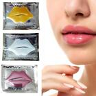 10pcs Collagen Lip Mask Moisturizing Anti Ageing Crystal Membrane Yellow Patch