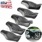 Mototcycle Driver & Passenger Two Up Seat For Harley Sportster 1200 Iron 883