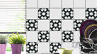 Tile stickers for kitchen, bathroom, floor tiles, stairs riser - SET OF 10 - n10