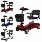 Mobility Scooter Portable 4mph Class 2 Travel Pavement Fits in Most Car Boots