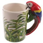 3D Animal Parrot Frog Panda Handle Coffee Mug Cute Milk Water Cup Present Gift