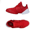 Y-3 by Yohji Yamamoto KANJA Women's L Flat Sneakers Red Stretch Fibers Leather