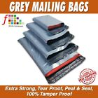 MAILING BAGS STRONG POLY MAILING POSTAGE POSTAL QUALITY SELF SEAL GREY