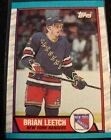 1989-90 Topps Brian Leetch Rookie #136 New York Rangers $1.95 USD on eBay