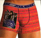 NEW Mens Small or Medium Licensed Disney Star Wars Hans Solo Orange Boxer Brief