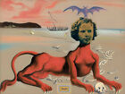 Salvador Dali Gogh HD Canvas Combinations Painted Oil Printed Wall Decor   <br/> Printed Paintings /Elaborately Select Out