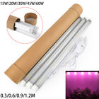 15W/20W/30W/45W/60W T5 T8 LED Grow Light Tube Full Spectrum for Hydroponic Plant