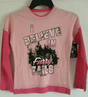 """Girl's Realtree Pink """"I Believe In Furry Tails"""" Long Sleeve Shirt Buck Camo NWT"""