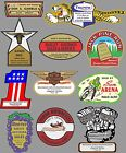 VINTAGE OLD SCHOOL MOTORCYCLE DEALERS DECAL $5.0 USD on eBay