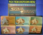 1997 Star Trek The Next Generation Inaugural & Seasons 1-7  Inserts U-Pick-1 on eBay