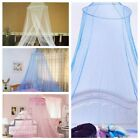 Candy Color Dome Lace Mesh Canopy Round Bed Mosquito Net Insect Netting Curtain image