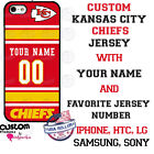 KANSAS CITY CHIEFS NFL FOOTBALL PHONE CASE COVER For iPHONE SAMSUNG etc NAME / # $18.98 USD on eBay
