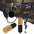 BM800 Microphone Vocal Recording Microphone Set Mic W/Stand For Computer MA