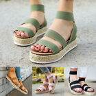 Été Femmes Plateforme Sandales Sangle PU Casual Open Toe Fish Mouth Sandals