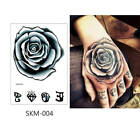 Back Of The Hand Temporary Tattoo Sticker Colorful Flower Makeup Small Body Art