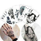 Back Of The Hand Temporary Tattoo Sticker Colorful Flower Makeup Small Body Art $0.99 USD on eBay