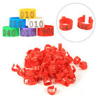 100Pcs/Bag 16MM 001-100 Number Poultry Chickens Ducks Bird Goose Leg Band Ring