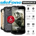 Unlocked ULEFONE Armor 2 Dual SIM 6GB+64GB 4G LTE IP68 Android Rugged Cell Phone