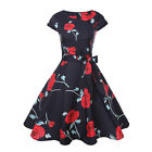 Vintage Polka Dot 50s 60s ROCKABILLY Swing Pinup Housewife Retro Dress Plus Size