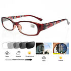 Beauty Spring Hinges Transition Photochromic Myopia Glasses UV400  -1.0 1.25 -6