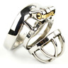 Latest Design Male Chastity Device Stainless Steel Chastity Cage Lock Men's Hot