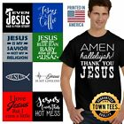 Christ Tee Shirt Religious T-Shirt Mens God TShirts Christian T Shirt For Womens image