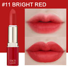 Women's Beauty Waterproof Sexy Red Matte Lipstick  Smooth Lip Gloss Lips Makeup