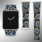 Los Angeles Rams Apple Watch Band 38 40 42 44 mm Fabric Leather Strap 1 $29.97 USD on eBay