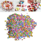 10/50g Polymer Clay Fake Candy Sweet Sugar Sprinkles Decor For Phone She BBE image