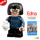 LEGO 71024 Disney Series 2 Minifigure Edna from The Incredibles NEW Opened Foil