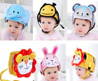 Baby Adjustable Safety Helmet Infant Head Protector Breathable Headguard for Tod
