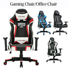 High Quality Office Gaming Chair Racing High Back Leather Computer Desk Seat $140.99 USD on eBay