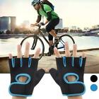 Adult Outdoor Sport Riding Half Finger Gloves Protective Non Slip Breathable