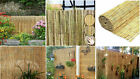 Natural Peeled Reed Fence Garden Backyard Fencing Panel Privacy Screen Windbreak