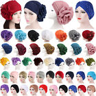 Kyпить Women Indian Turban Hat Head Wrap Stretchable Chemo Cancer Pleated Hijab Cap на еВаy.соm