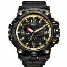 SMAEL Herren Sportuhren Military Shock Analog Quarz Digital Wasserdichte Uhr