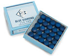 Genuine Brunswick Blue Diamond Leather Snooker / Pool Chalk Cue Tips 9 10 11mm £2.89 GBP on eBay