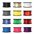 3D Printer Filament 1.75mm 3mm ABS/PLA/PETG/1kg/2.2lb MarkerBot Lot Color US