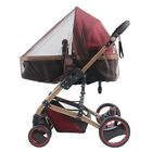 US Universal Newborn Kids Stroller Pushchair Mosquito Fly Insect Net Mesh Cover