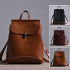 Convertible Small Real Leather Backpack Rucksack Shoulder Bag Purse Cute 2 Sizes