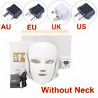 7 Colors LED Light Photon Face Neck Mask Rejuvenation Facial Beauty Therapy