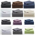 4 PCs Sheet Set 400 TC 100% Egyptian Cotton Wrinkle Free USA Size image
