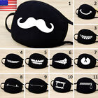 Adult Unisex Black Anti-Dust Cotton Mouth Face Mask Half Mask Cycling Outdoor US
