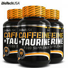 CAFFEINE & TAURINE Power Food Supplement Pills - Energy - Supports Weight Loss