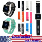US New Silicone Wrist Band Strap Bracelet Replace For Fitbit Blaze Smart Watch x image