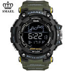 SMAEL Men Watch Military Digital Sport Watches for Boy LED Electronic Wristwatch image