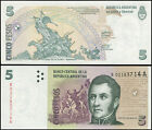 ARGENTINA BANKNOTE 5 PESOS - P.353r ND (2003) UNC REPLACEMENT