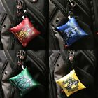 OFFICIAL Harry Potter House Crest Plush Keychain Backpack Bag Charm Clip On