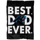 Carolina Panthers Best Dad Ever Blanket, Best Gift For Father's Day Blanket on eBay